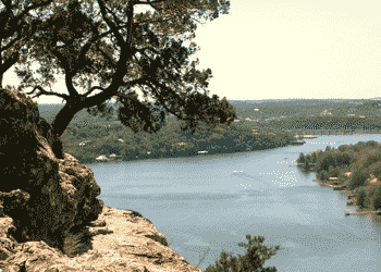 View of Lake Austin